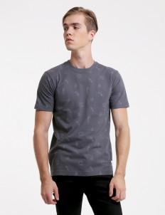 Gray Avisparcum Polo Shirt