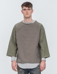 Military Cotton Pullover