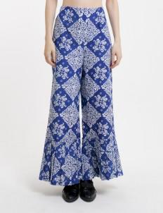 Navy Blue Premium Pirus Batik Pants