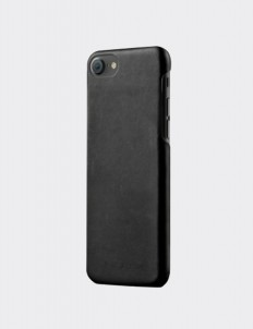 Black Leather Case for iPhone 7