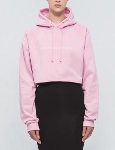 """""""Think Pink"""" Cropped Hoodie"""