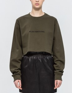 """All You Need"" Cropped Pullover"