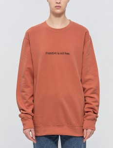 """Freedom Is"" Pullover"