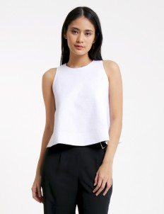 White Oriana Blouse