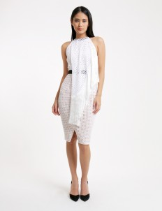 Off White Abia Dress