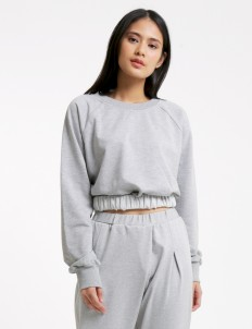 Misty Gray Alvita Blouse