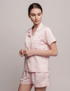 Pink White Anneliës Short PJ Set