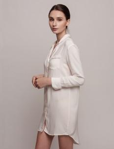 White Pink Annette Dress Shirt