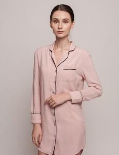 Pink Black Annette Dress Shirt