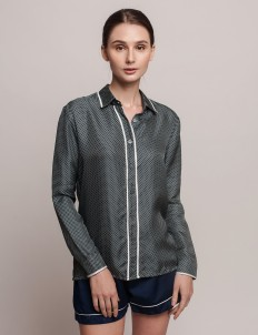Spotted Dominique Blouse