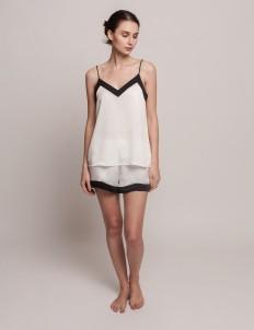 White Chloe Cami Set