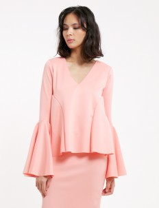 Peach Always Co-ord Blouse