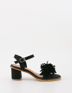 Black Janice sandal