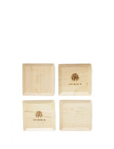 Diamond Wooden Coasters