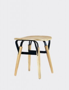 Lebello Natural & Black Chair