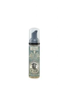Black Reuzel Beard Foam