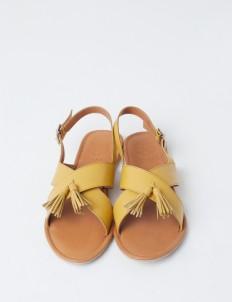 Yellow Rochas Sandals