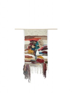 Earth Tone Wall Hanging Tapestry