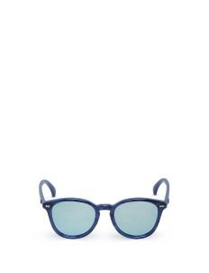 Cobalt Marble Bandwagon Sunglasses