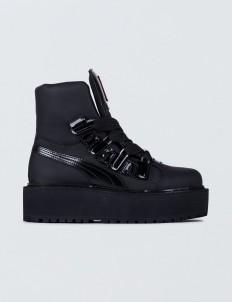 FENTY by Rihanna SB Black Eyelet  Boots