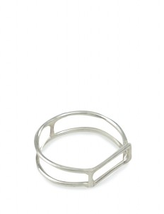 Silver Mylo Ring