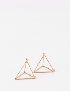 Rose Gold Val Earring