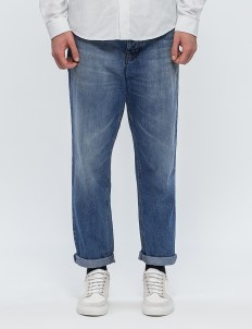 Carrot Fit 5 Pockets Jeans