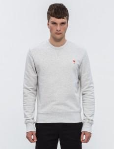 Ami De Coeur Embroidery Sweatshirt