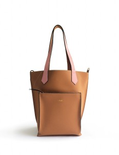 Camel Pink 2Loev Midi Bag