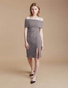 Gray Natalie Knit Dress