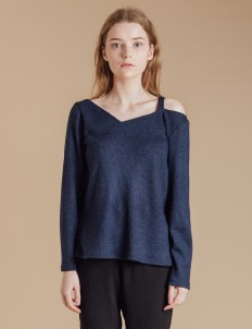 Navy Noel Sweater