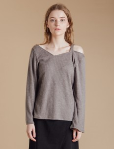 Gray Noel Sweater