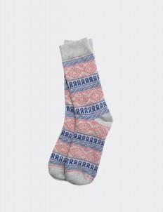 Misty Gray Brata Socks