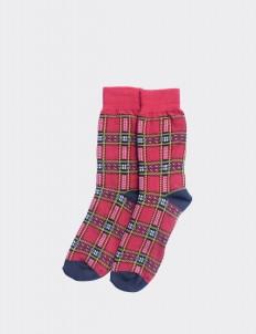 Red Siji Socks