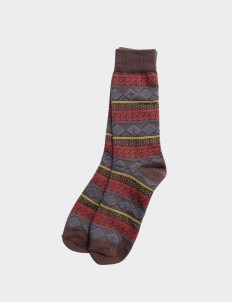 Brown Blaka Socks