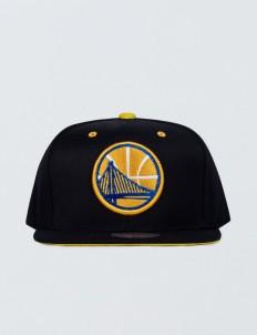 Golden State Warriors Solid Velour Logo Snapback