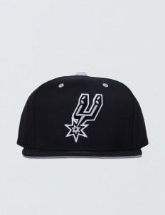 San Antonio Spurs Solid Velour Logo Snapback
