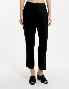Black Zora Crop Pants