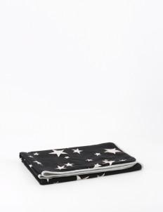 Black & White Stellar Baby Blanket