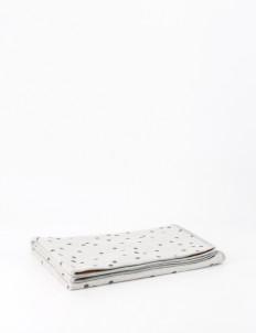Misty Gray Galahad Baby Blanket