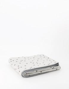 Gray Gala Maxi Baby Blanket
