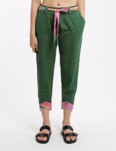 Green Sepal Pants