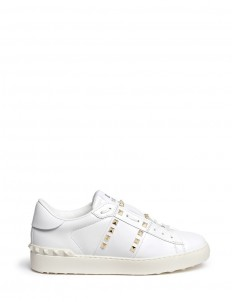 'Rockstud Untitled 11' leather sneakers