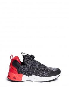 'InstaPump Fury Road CNY' vector print sneakers