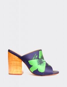 Blue Dhuwur Sandals