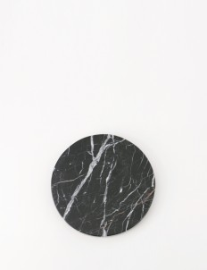 Black Small Round Zircon Marble