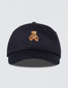 Rock Teddy Bear Embroidered Cap