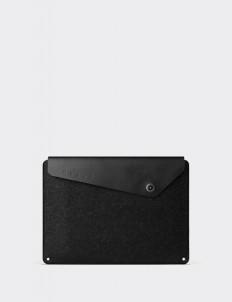 """Black Sleeve for 12"""" Macbook"""