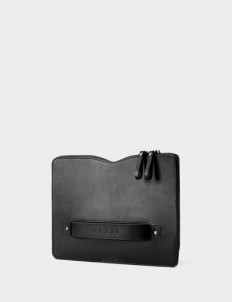 "Black Carry-on Folio Sleeve for 12"" Macbook"