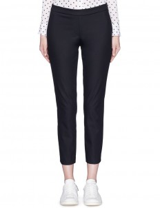 'Thaniel' elastic waist cropped pants